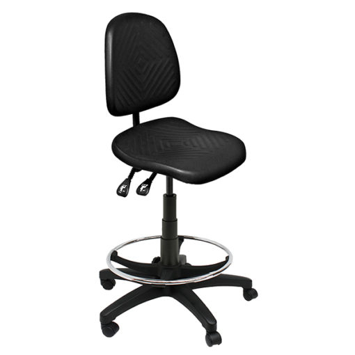 Clam Square Drafting Chair