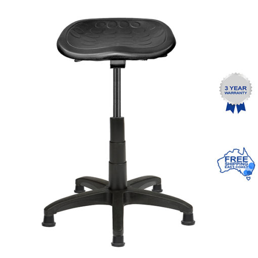 Tractor seat stool with wheels