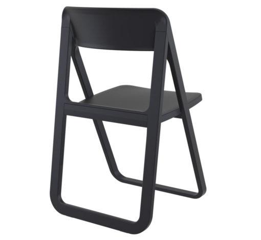 Banca Foldable chair black back