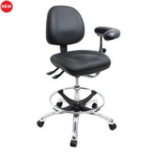 Gala Lab Medical Chair Alloy Star Base angle 600x600