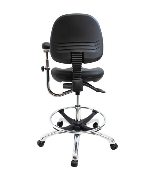 Gala Lab Medical Chair Alloy Star Base back