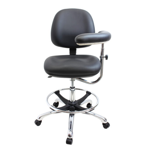 Gala Lab Medical Chair Alloy Star Base front
