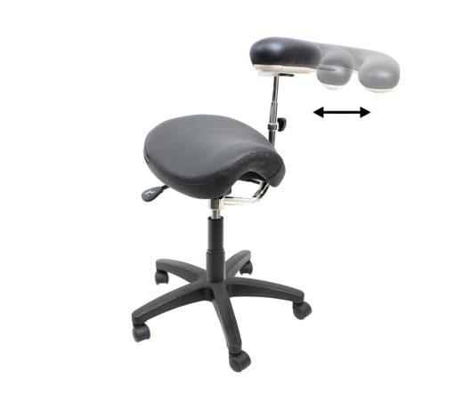 VINN saddle medical with boomerang arm motion